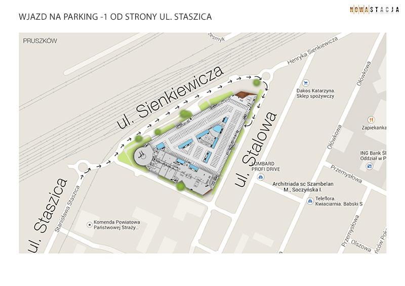 parking -1 od staszica