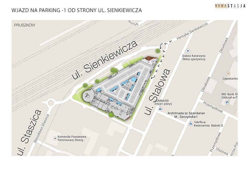 parking -1 od sienkiewicza